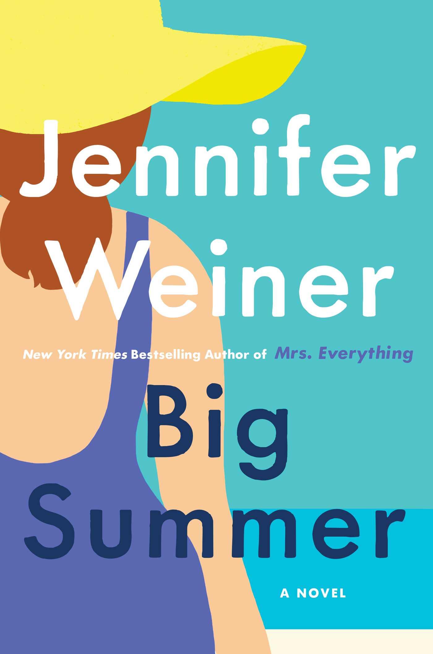 #FiveBlushReview #WomensFiction ~~ Big Summer by Jennifer Weiner