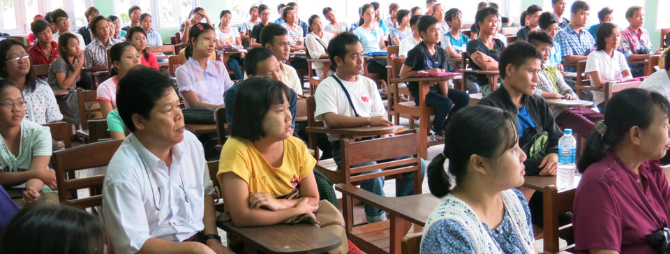 Cetana Academic Program for English opening assembly Fall 2014