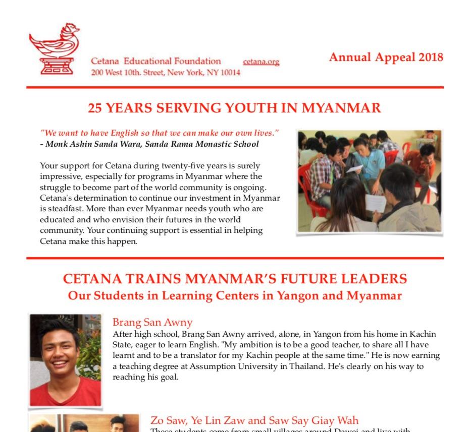 Cetana Newsletter