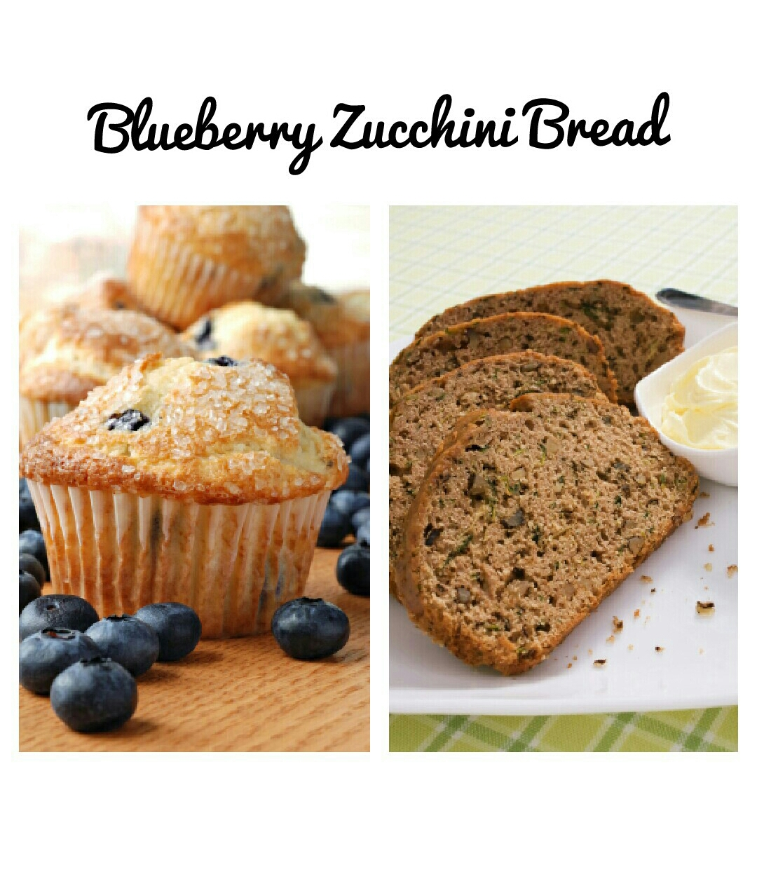 blueberry zucchini bread fragrance
