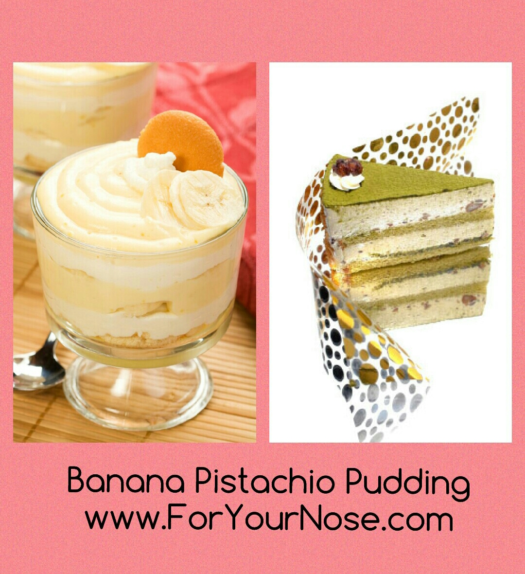 Banana Pistachio Pudding fragrance