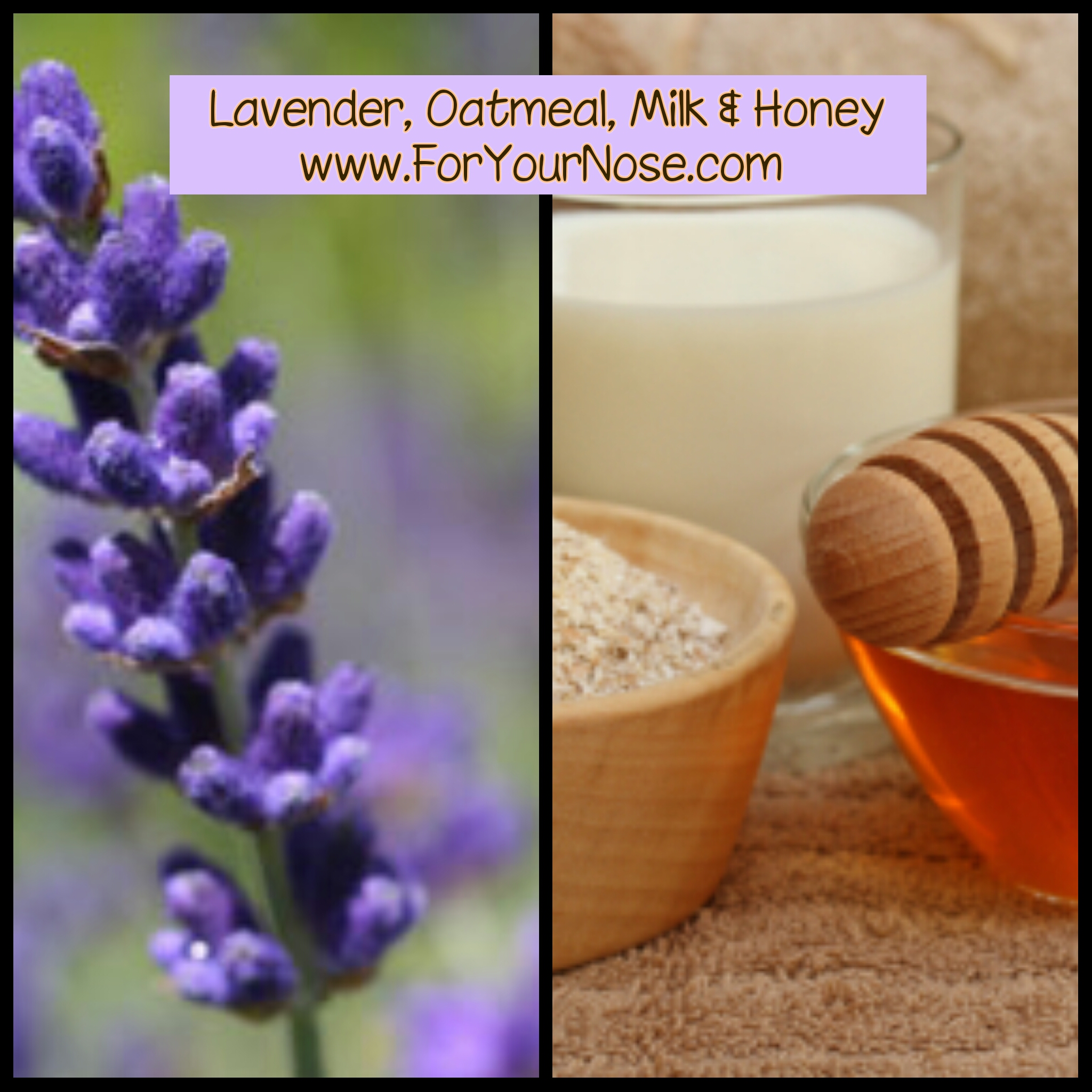 lavender, oatmeal, milk & honey fragrance