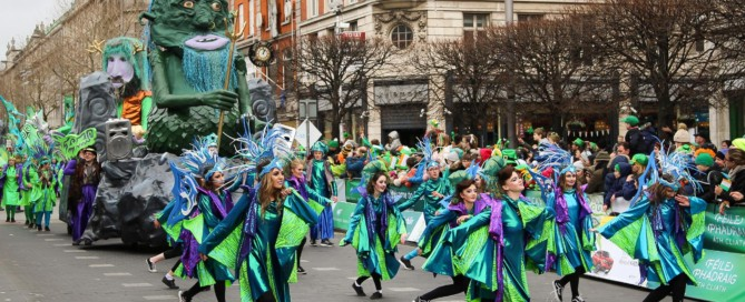 2019 St. Patrick's day in Dublin