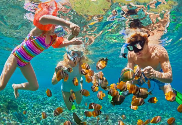 Family Travel to an All-Inclusive