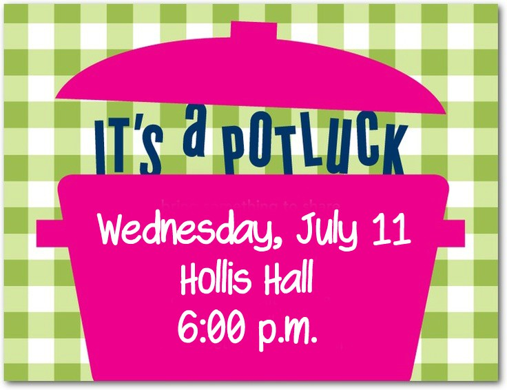 Potluck Dinner July 2018