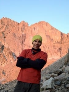 J Siegrist, AKA JStar, below the Diamond in Colorado.