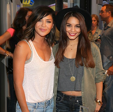 Jessica Szohr and Vanessa Hudgens  Photo Credit: BFANYC