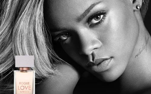 Rihanna's New Fragrance, Rogue Love By Rihanna Arrives In Stores