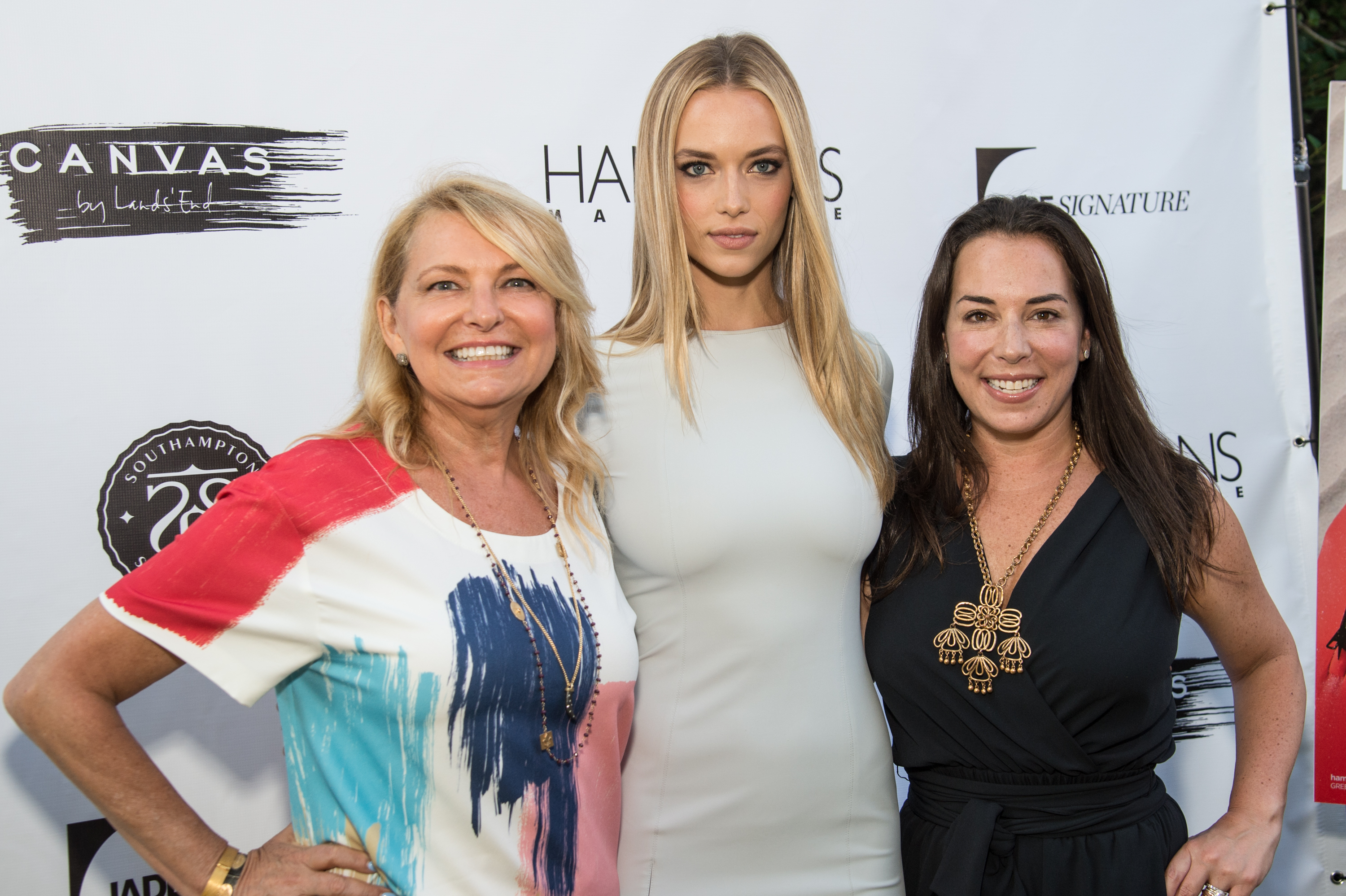 Hannah Ferguson Celebrates Hamptons Magazine Issue
