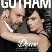 Billions Stars Paul Giamatti and Maggie Siff Celebrate Gotham Magazine's Fall Fashion Issue