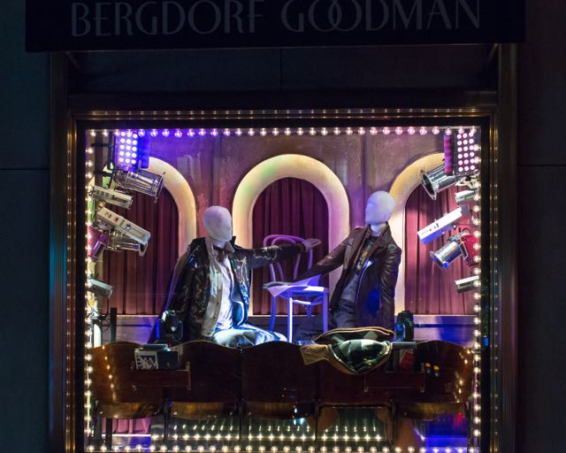 Bergdorf 's Holiday Windows Reveals New York City's Culture