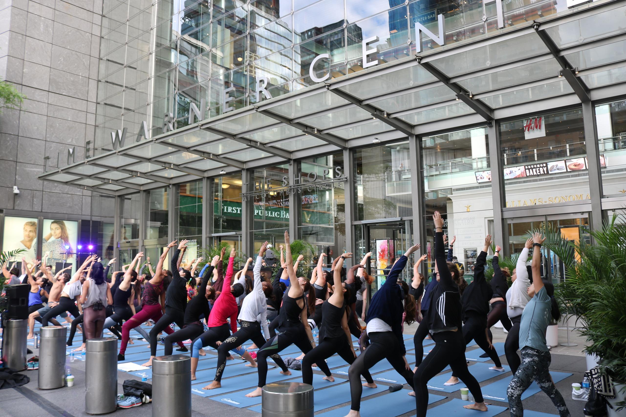 The Shops At Columbus Circle Kicks Off 360 Wellness Series