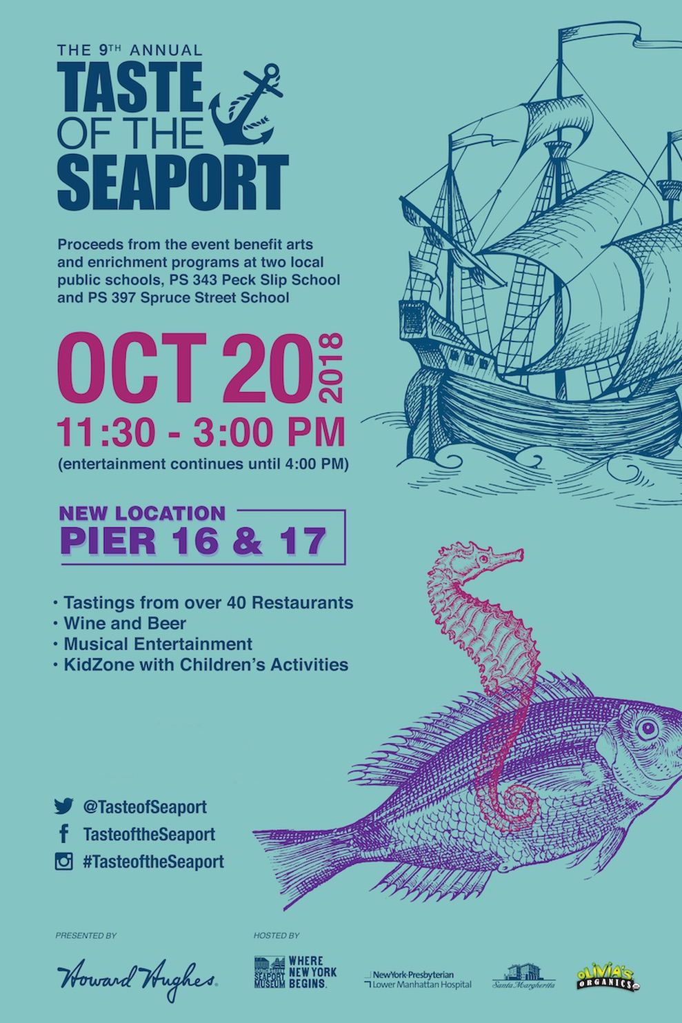 Venture South This Month To The Annual Taste Of Seaport