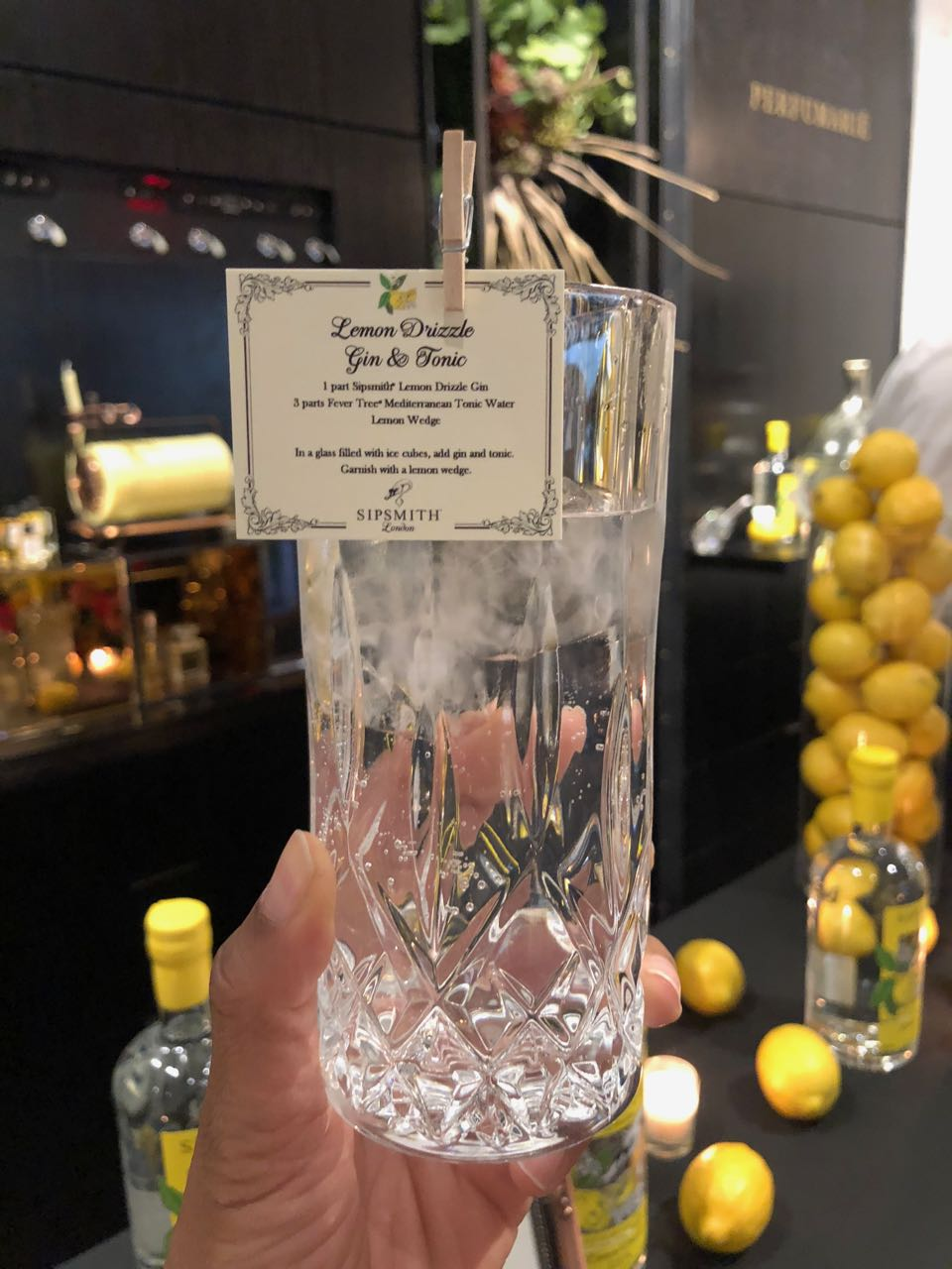 Sipsmith's Lemon Drizzle Gin Is The Latest It Drink To Get