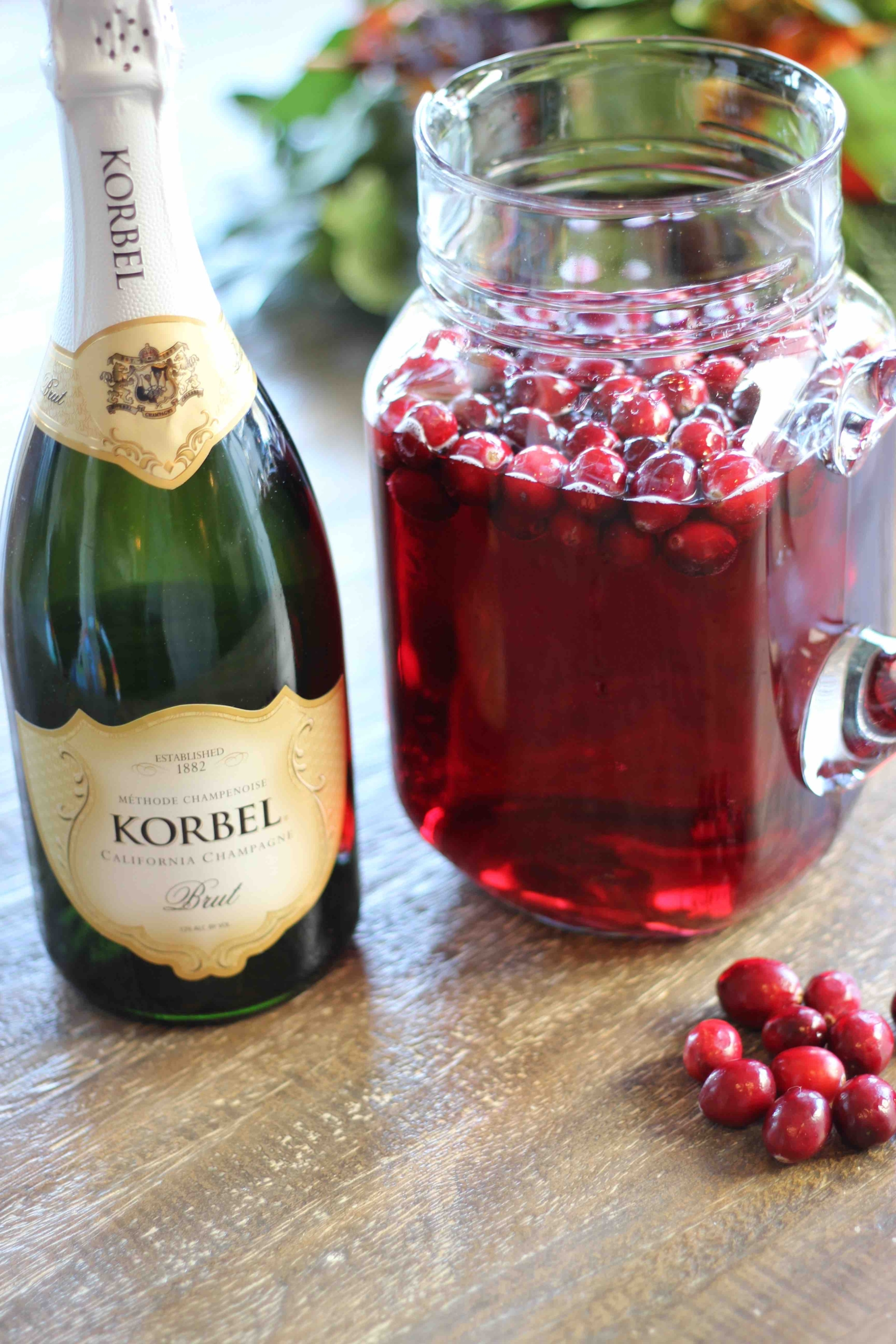 Korbel Holiday Punch