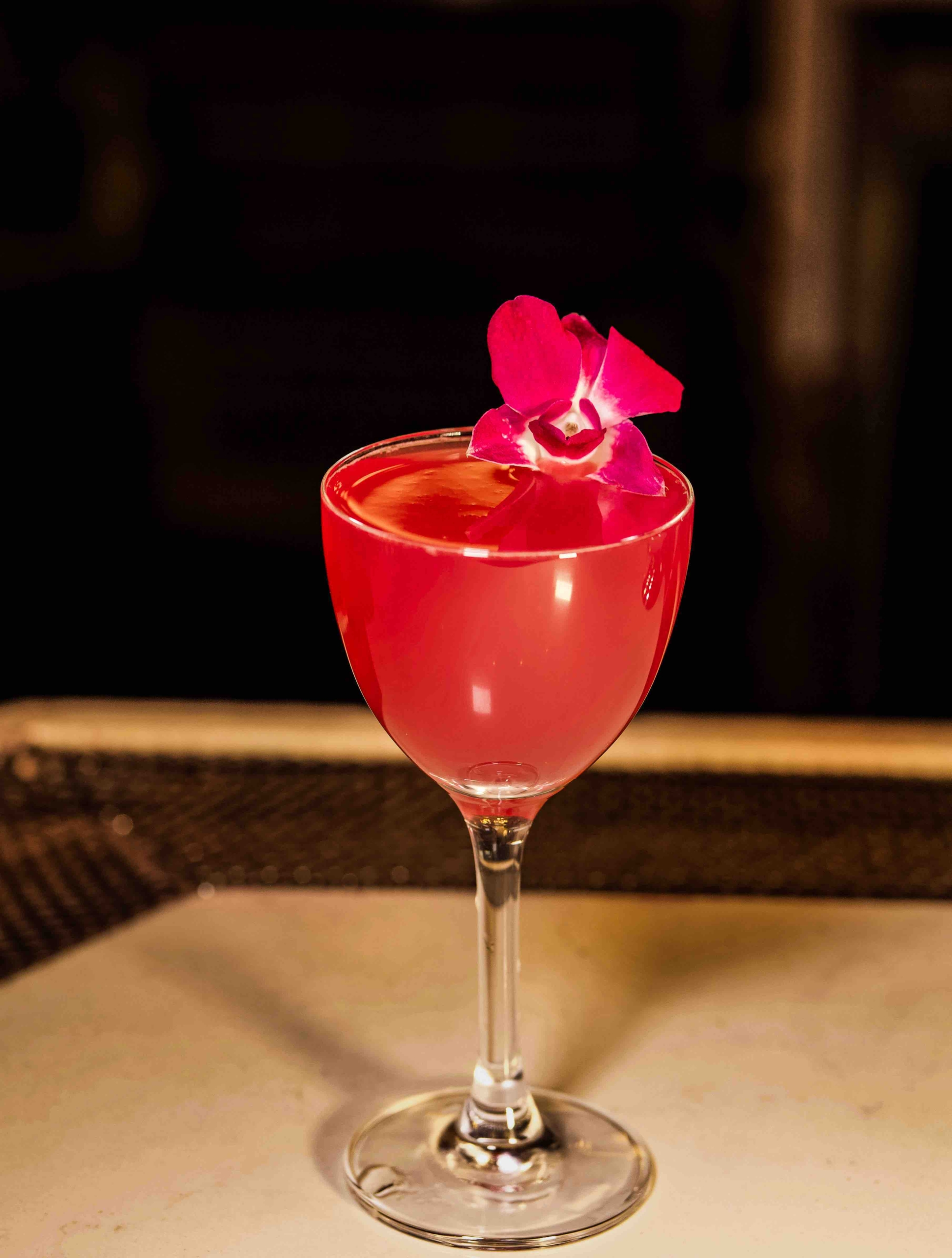 13 Delicious Rose-Colored Cocktails To Celebrate Valentine's Day
