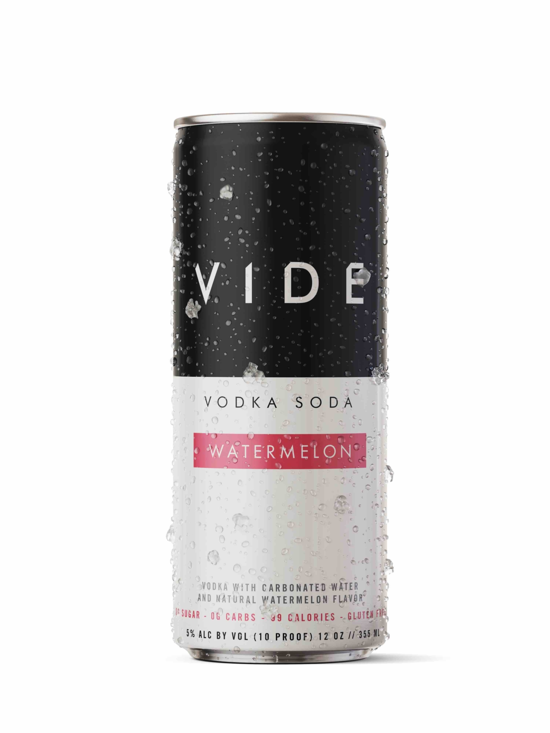 Vide Vodka Watermelon Soda