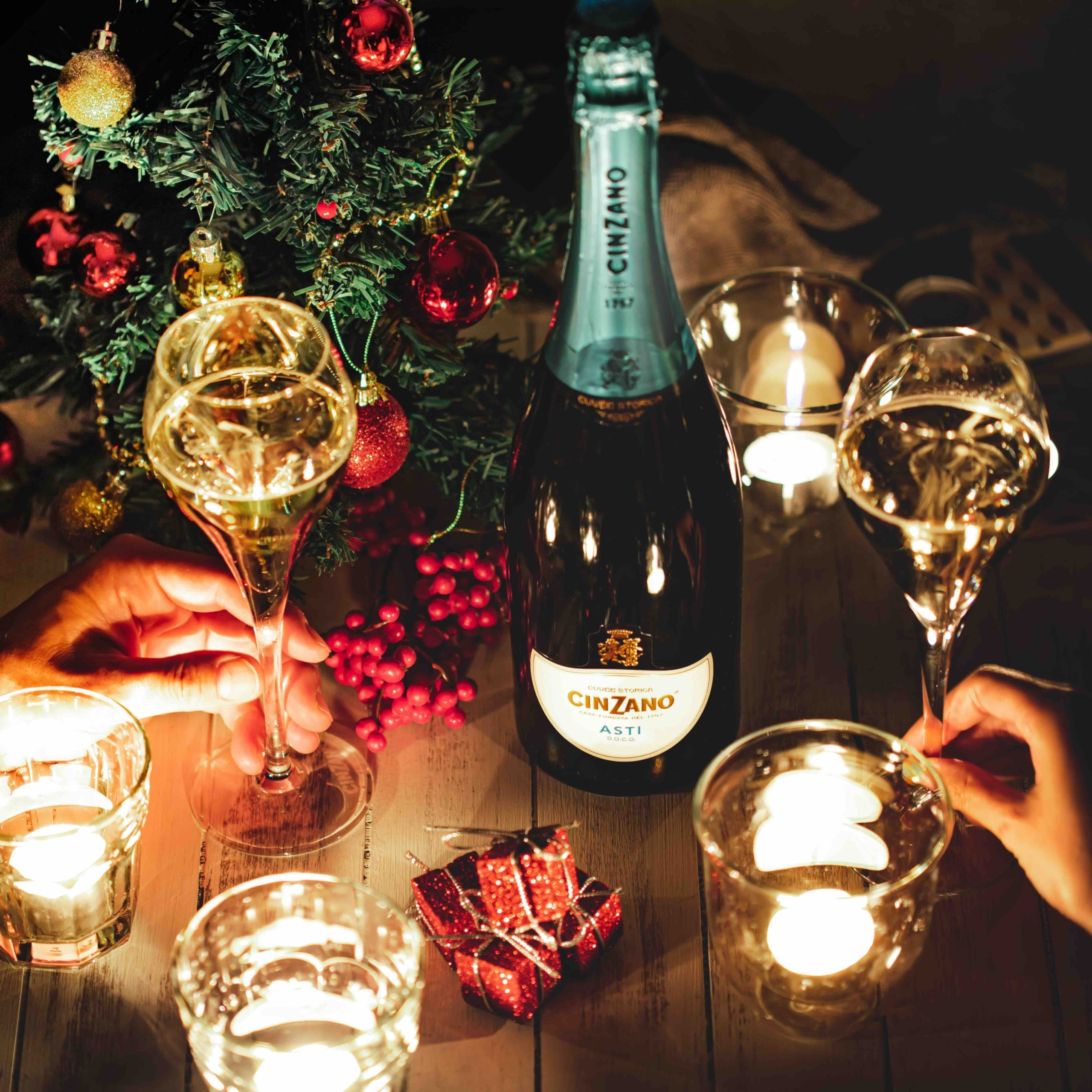 Cinzano Asti Spumante NYE Virtual Bubbly Party