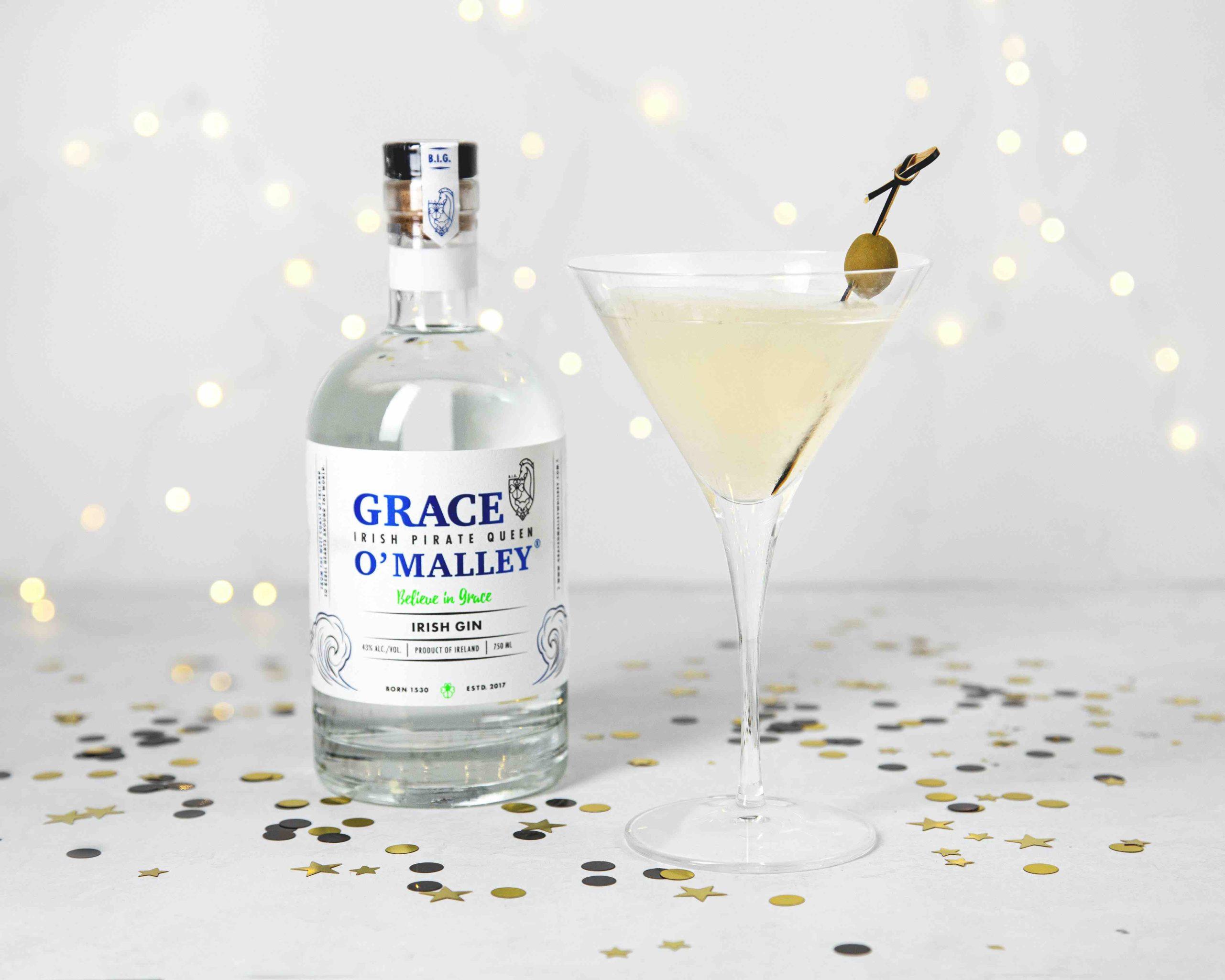 Holiday Martini With Irish Gin