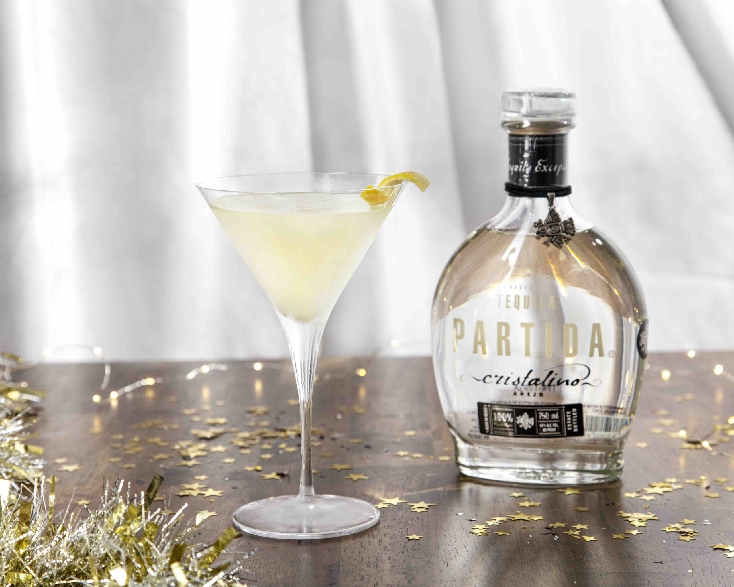 Holiday Martini With Tequila