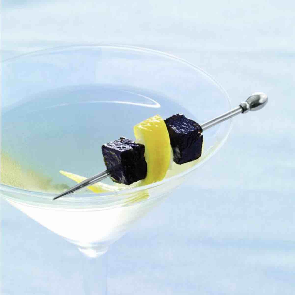 Caviar Holiday Martini