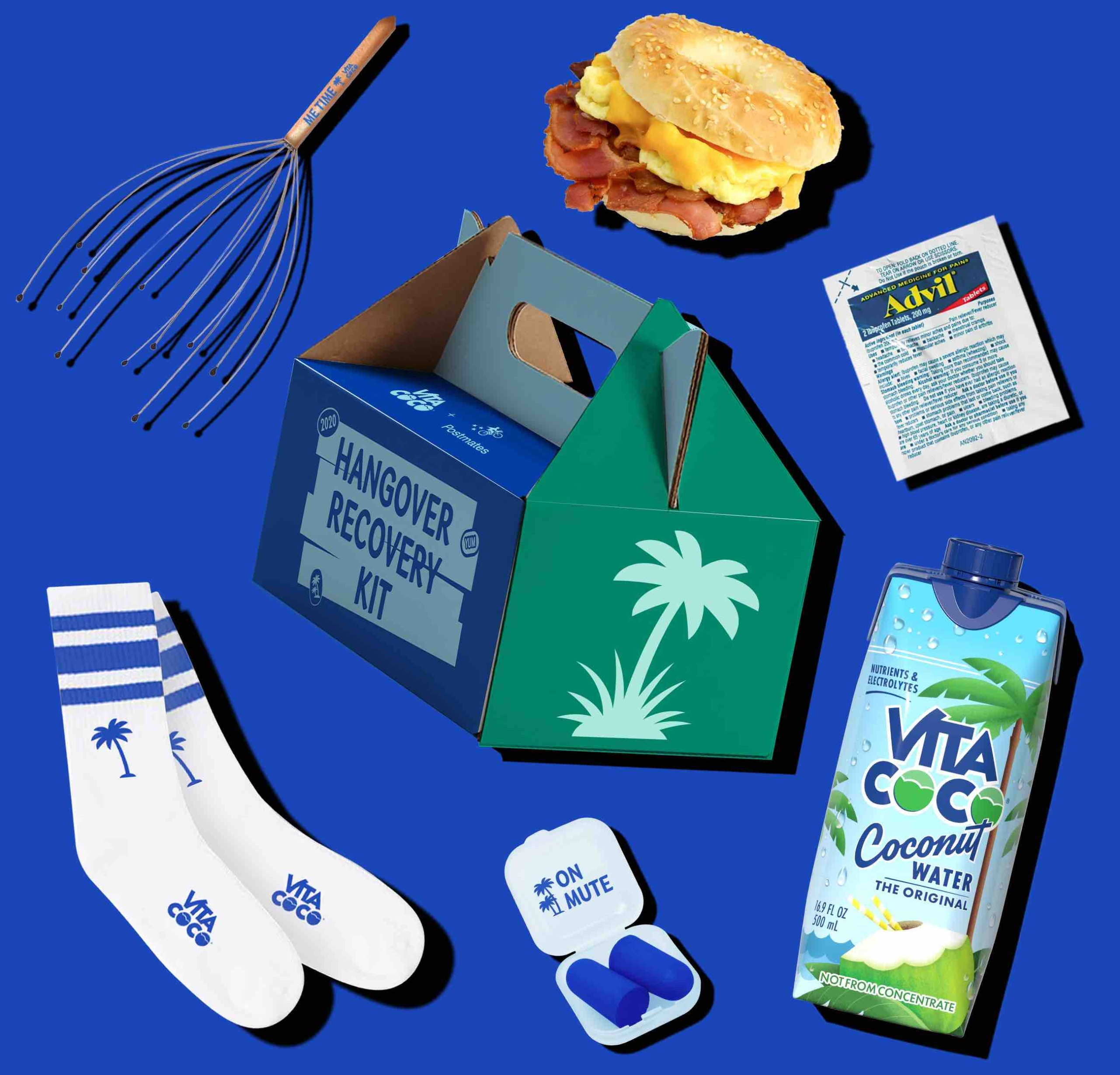 This Vita Coco Hangover Recovery Kit Is How To Cure Your Holiday Hangover This Weekend
