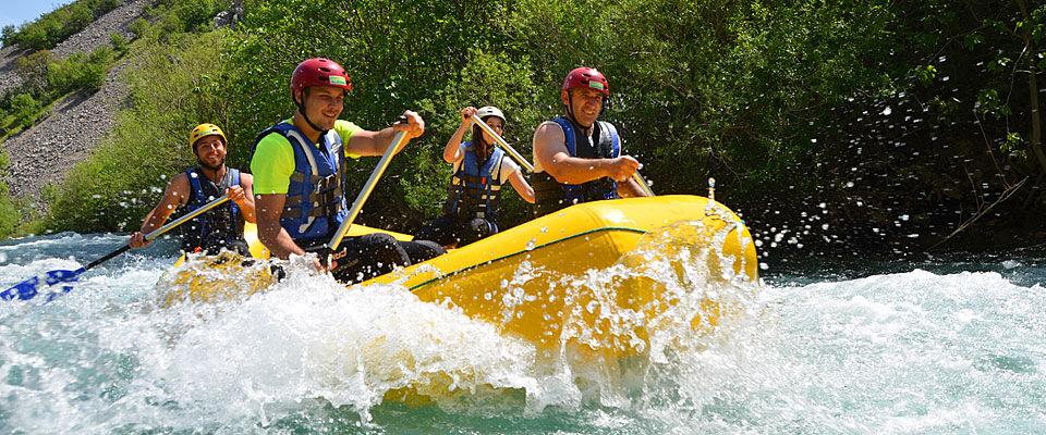 Croatia white water rafting