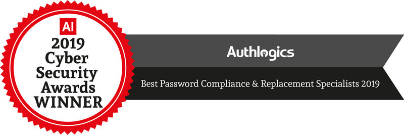 Authlogics Wins Best Password Compliance & Replacement Specialists from AI Cyber Security Awards 2019