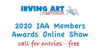 2020 IAA Members Online Awards Show call for art –  FREE