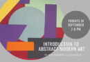 Introduction to Abstract Modern Art – Fridays in September