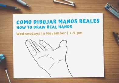 How To Draw Real Hands/ Como Dibujar Manos Reales – Wed. in Nov.
