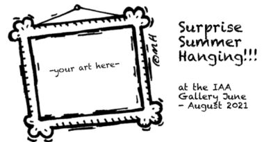 Surprise Summer Hanging call for art