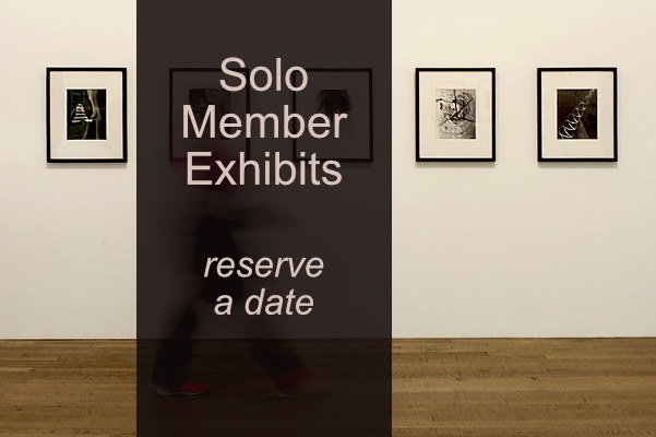 Solo Exhibits for IAA Members – Reserve a date