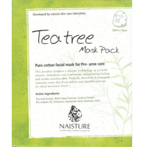 Naisture Cotton Sheet Mask TEA TREE