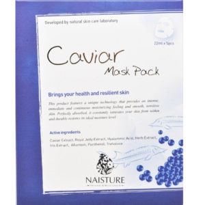 Naisture Cotton Sheet Mask CAVIAR