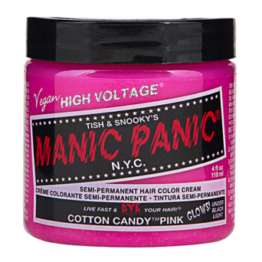 Manic Panic High Voltage : Cotton Candy Pink*