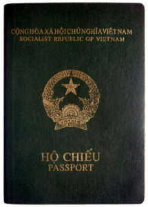 Vietnamese passport