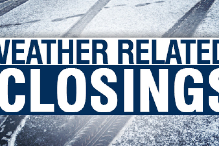Weather Closings & Delays for February 21st, 2020