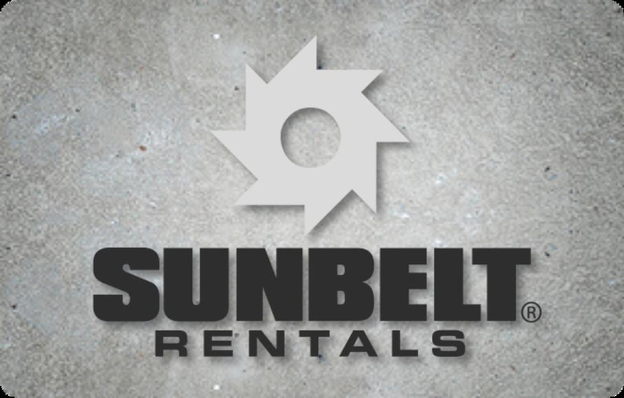 Sunbelt Rentals Sponsor