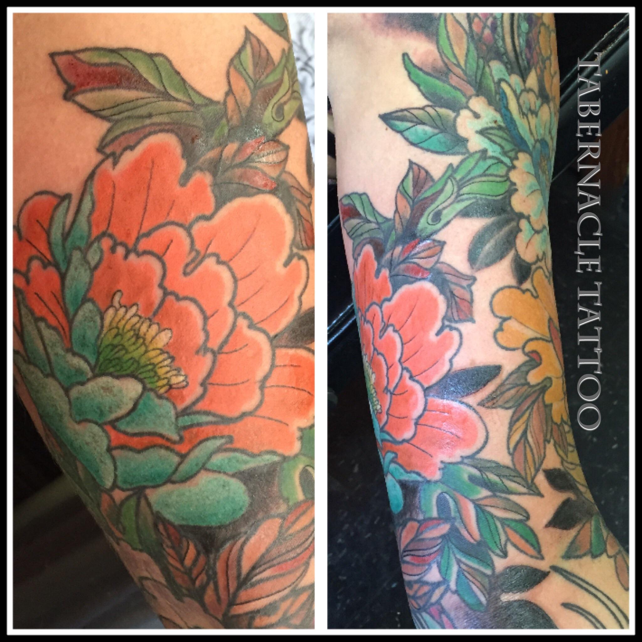 Flower tattoo tampa