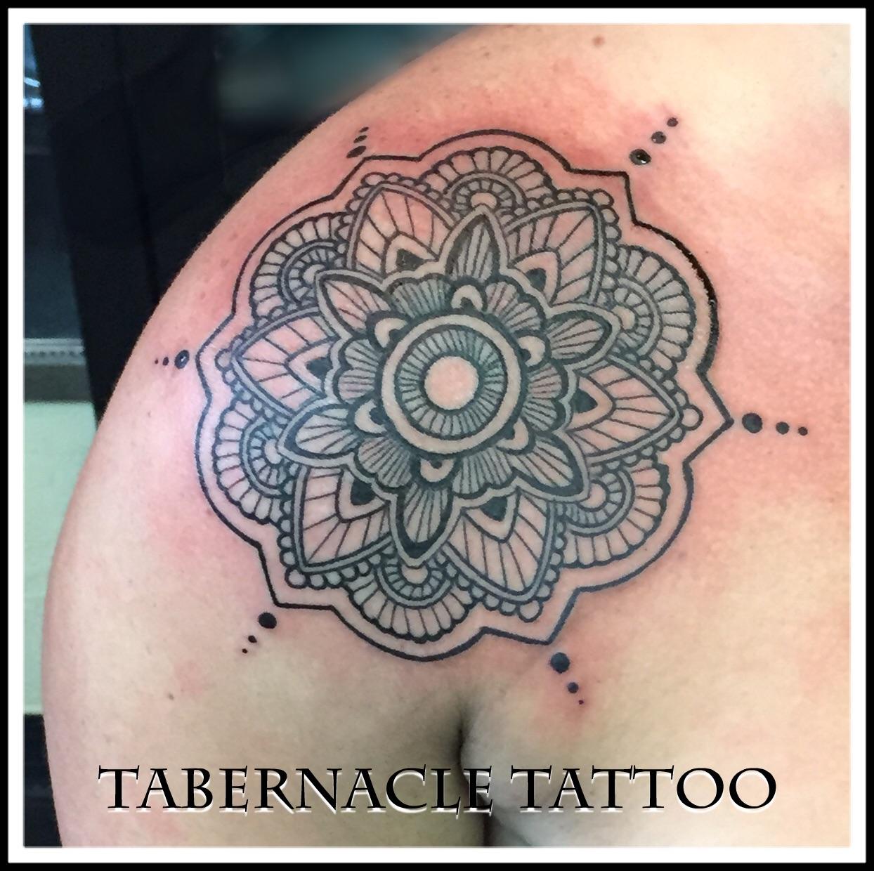 Geometric tattoo artist Tampa Fl