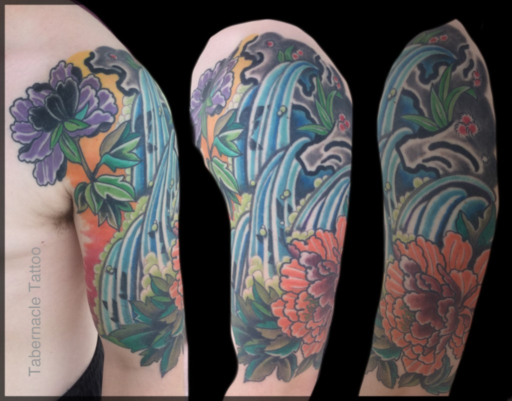 Japanese half sleeve design