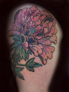 Flower tattoos for woman, peony, flower, botan, botany tattoo