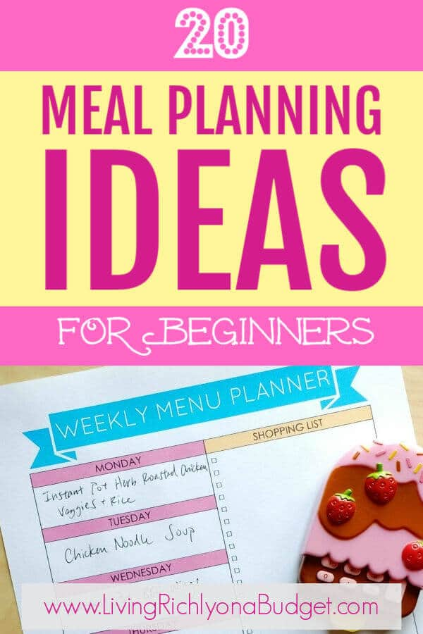 Meal Planning Ideas