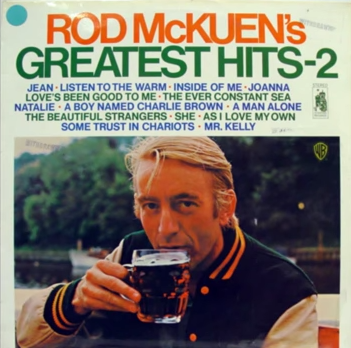 Rod McKuen Unlikely Star, Shunned Limelight Living His Introspective Poetry and Songs