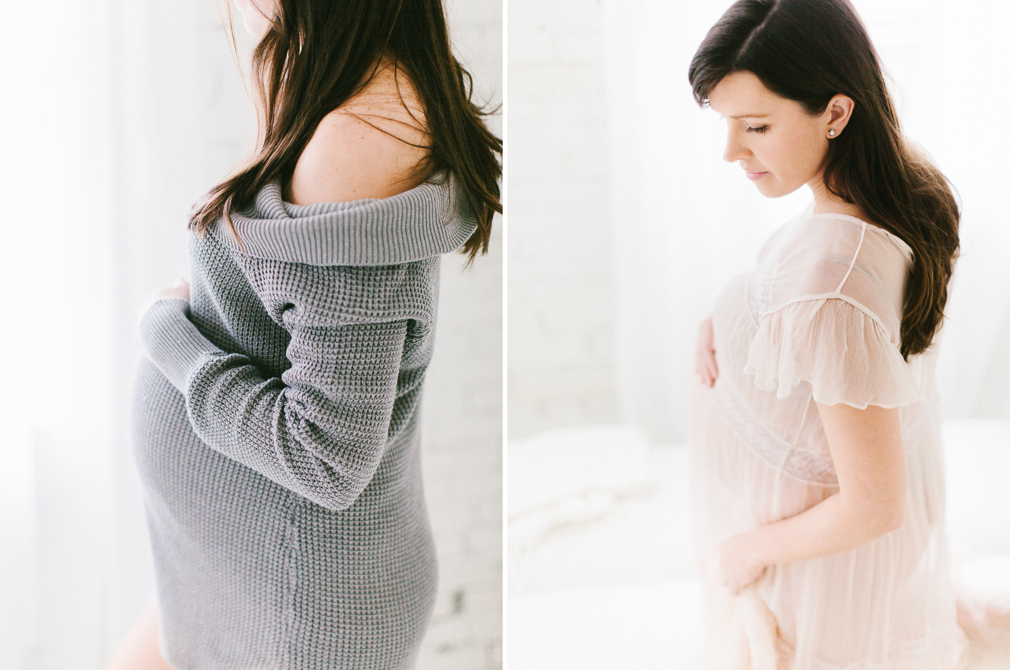 lifestyle maternity studio photography