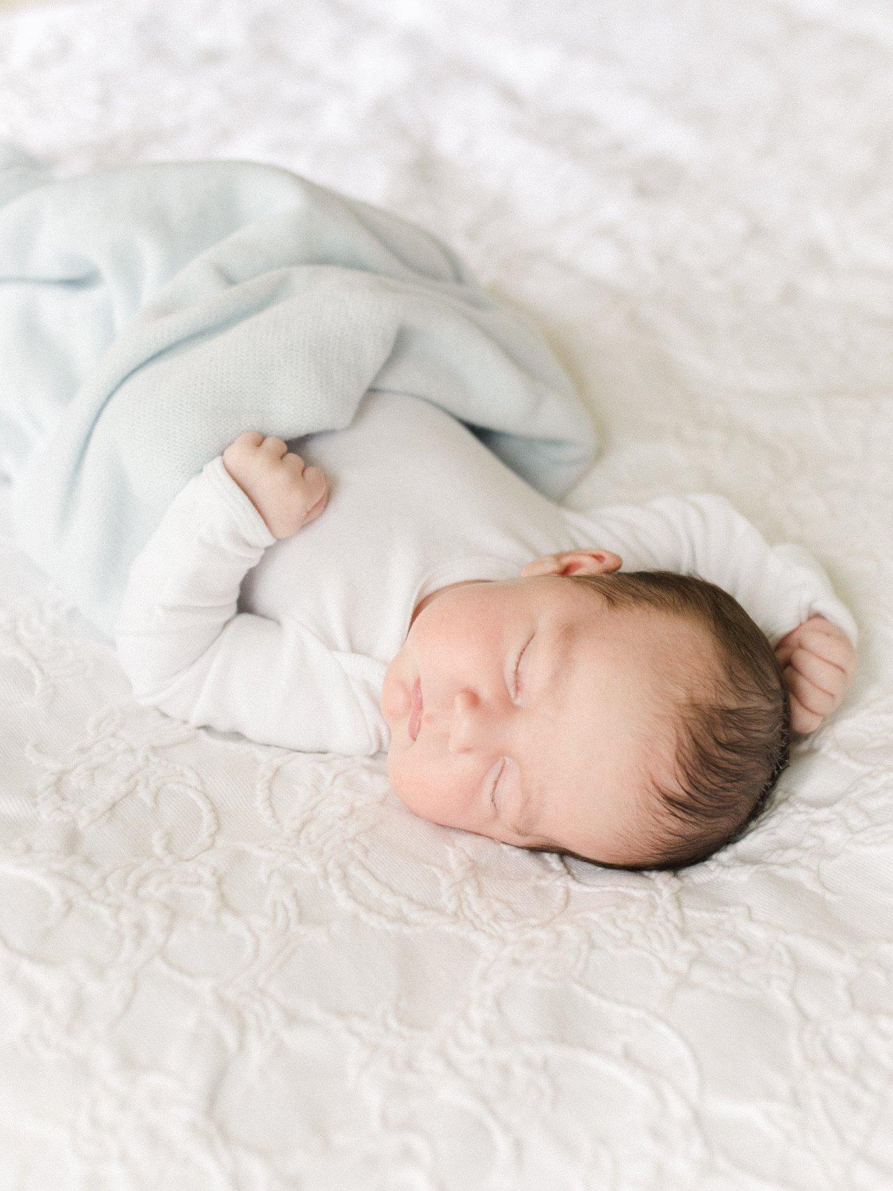 Home Newborn Session in Savannah GA