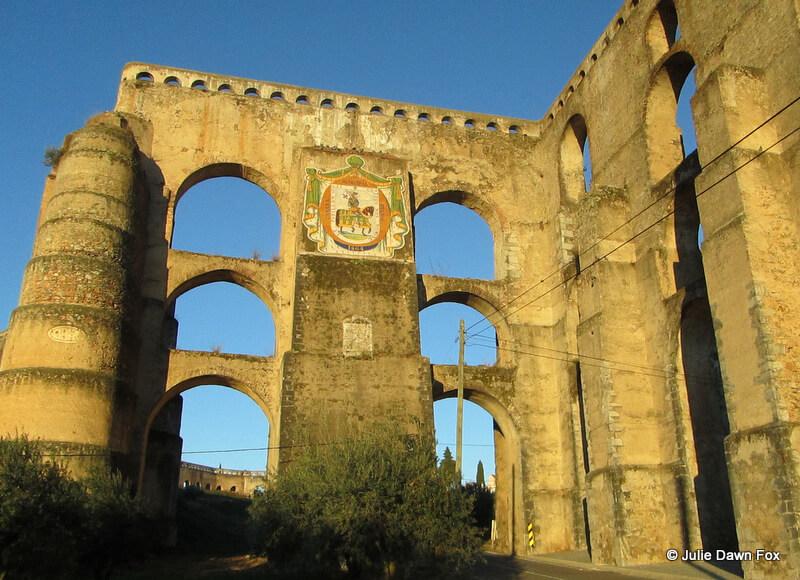 Amoeiras aqueduct, Elvas