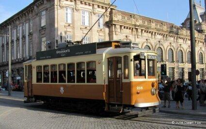 Wooden tram, Porto. How to get around Porto