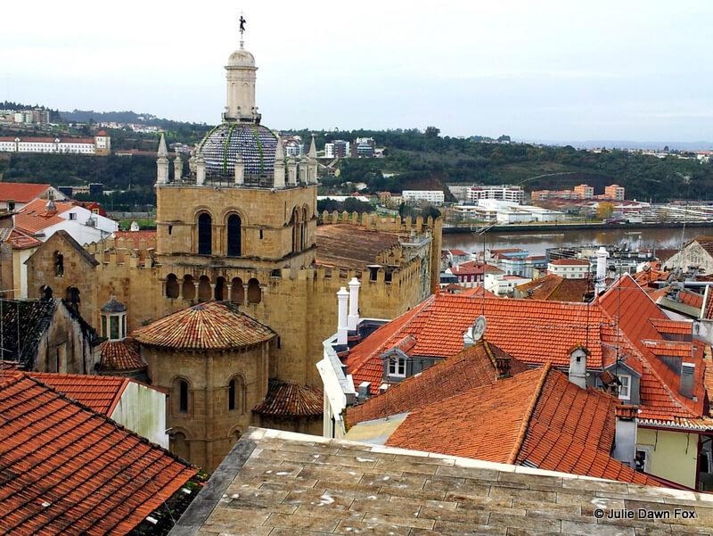 View across Coimbra